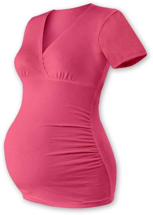 BARBORA- maternity T-shirt/tunic, SALMON PINK