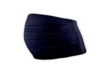 Těhotenský pás tm. modrý l/xl