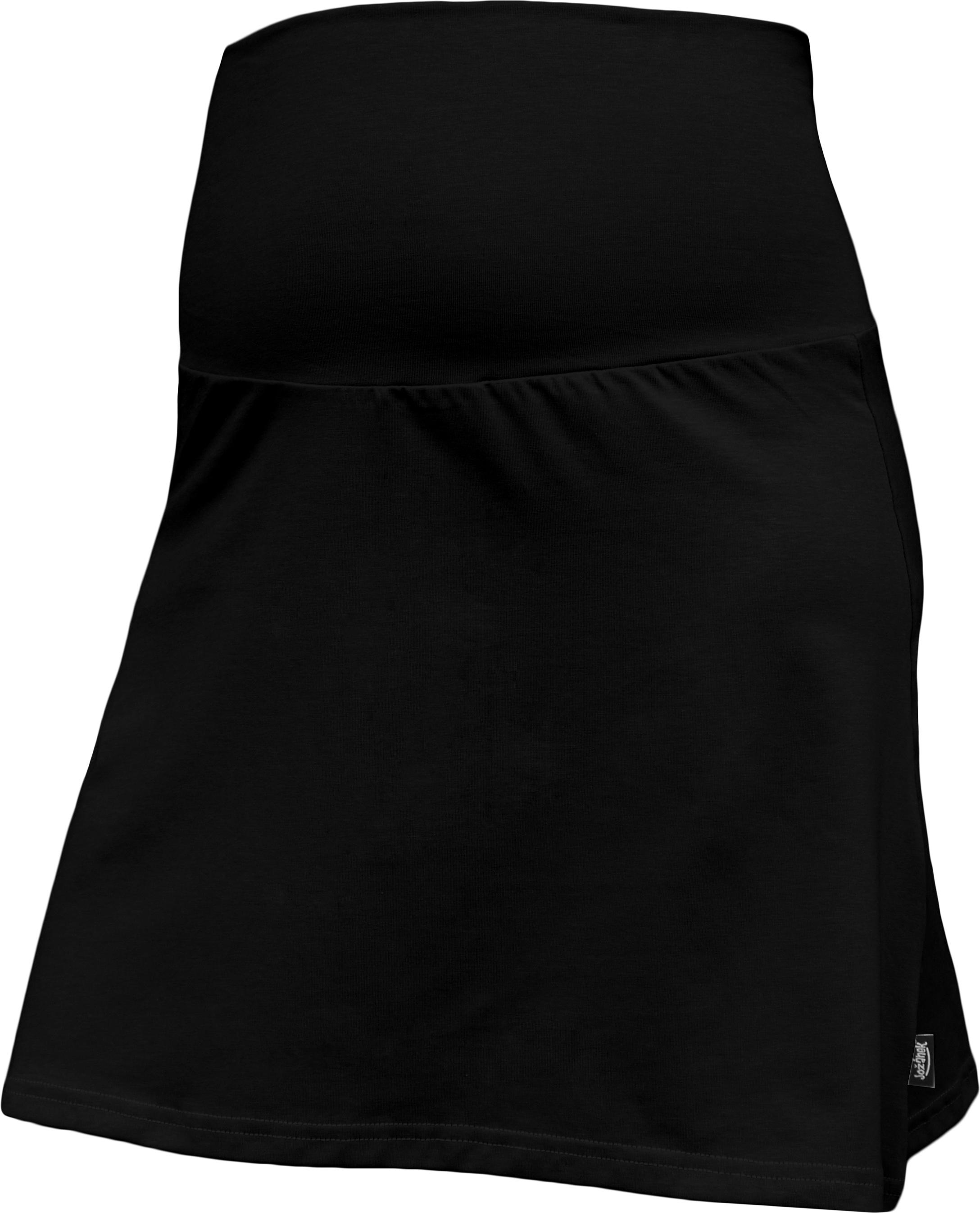Těhotenská sukně jolana, černá l/xl