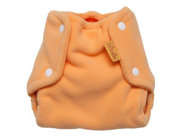Svrchní kalhotky na látkové pleny fleece, žloutkové s 2,5-5kg