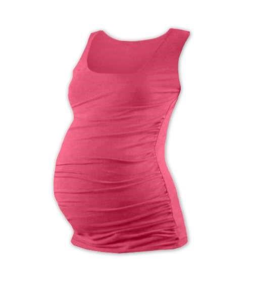 JOHANKA- T-shirt for pregnant women, no sleeves, SALMON PINK