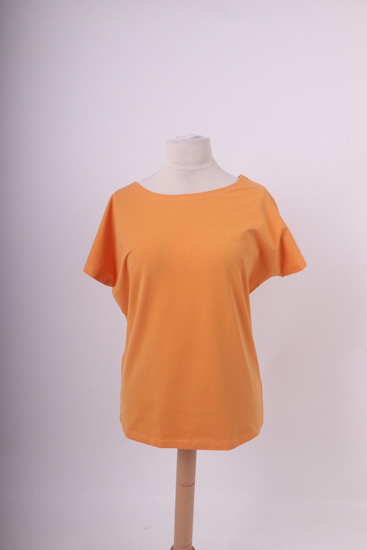 Dámské tričko nikola, oranžové , l/xl