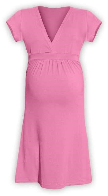 Těhotenské šaty Šarlota, růžové