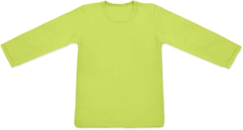 Children's T-shirt, long sleeve, light green