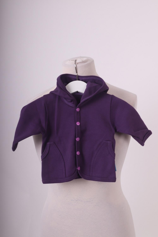 Bio-kojenecký kabátek, fialový, 56