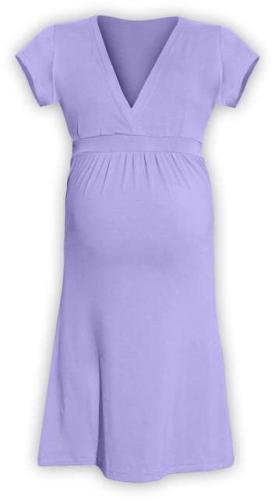 Těhotenské šaty Šarlota, světle fialové