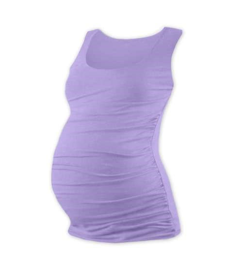 JOHANKA- T-shirt for pregnant women, no sleeves, LAVENDER
