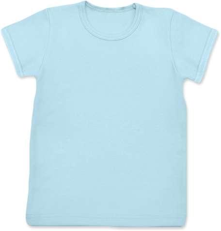 Detské tričko, krátky rukáv, svetlo modré