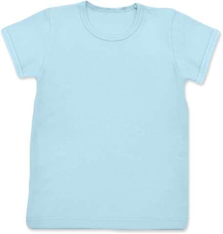 Dětské tričko, krátký rukáv, světle modré