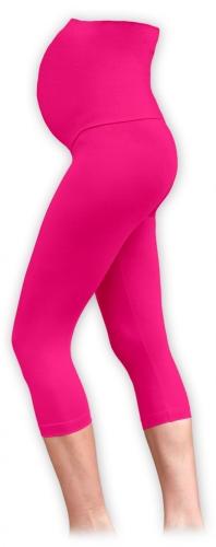 Maternity leggins, 3/4, PINK