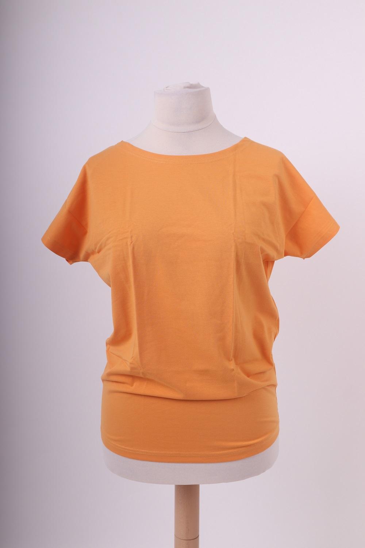 Dámské tričko nikola, oranžové , m/l
