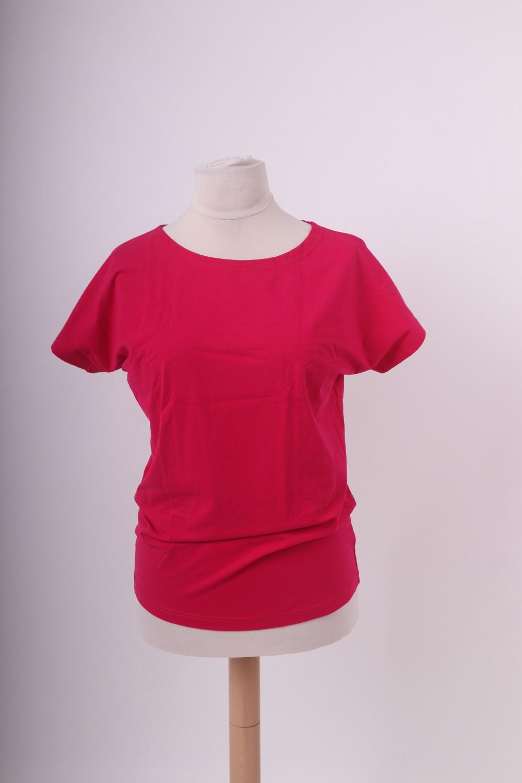 Dámské tričko nikola, sytě růžové, m/l