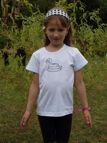 dětské tričko s KR, bílé, HAD